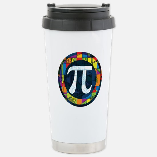 Pi Symbol 2 Stainless Steel Travel Mug