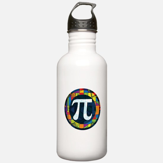 Pi Symbol 2 Water Bottle