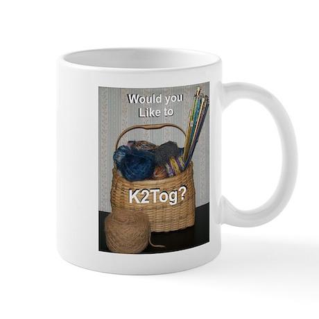 Would you like to K2tog? Mug
