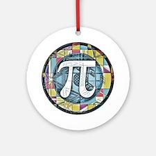 Pi Symbol 3 Ornament (Round)