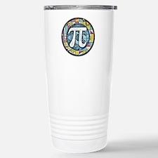 Pi Symbol 3 Travel Mug