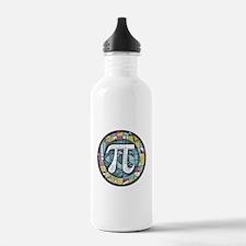 Pi Symbol 3 Sports Water Bottle