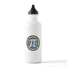 Pi Symbol 3 Water Bottle