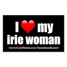 """""""Love My Irie Woman"""" Decal"""