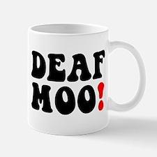DEAF MOO! Small Mug