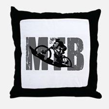 MTB WGB Throw Pillow