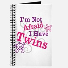 Im Not Afraid I Have Twins Journal