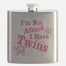 Im Not Afraid I Have Twins Flask