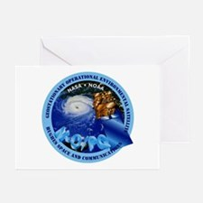 Infrared Space Observatory - ISO Greeting Cards (P