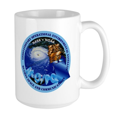 Infrared Space Observatory - ISO Large Mug