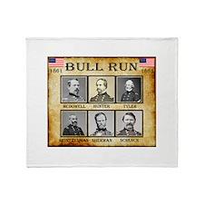 Bull Run (1st) - Union Throw Blanket