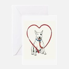 bullyheart1001a Greeting Cards