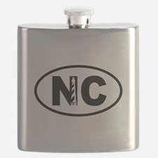 North Carolina Lighthouse Flask