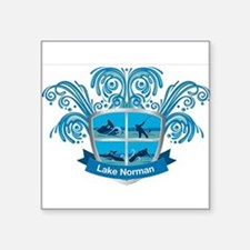 Lake Norman Splash Logo - LKN Sticker
