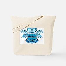 Lake Norman Splash Logo - LKN Tote Bag