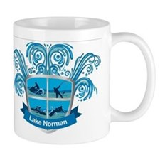 Lake Norman Splash Logo - LKN Mug