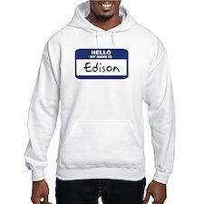 Hello: Edison Hoodie