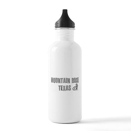Mountain Bike Texas Water Bottle