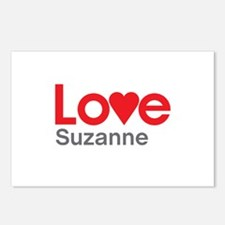 I Love Suzanne Postcards (Package of 8)