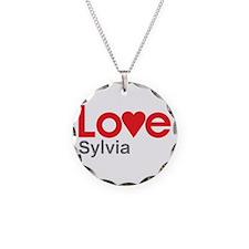 I Love Sylvia Necklace