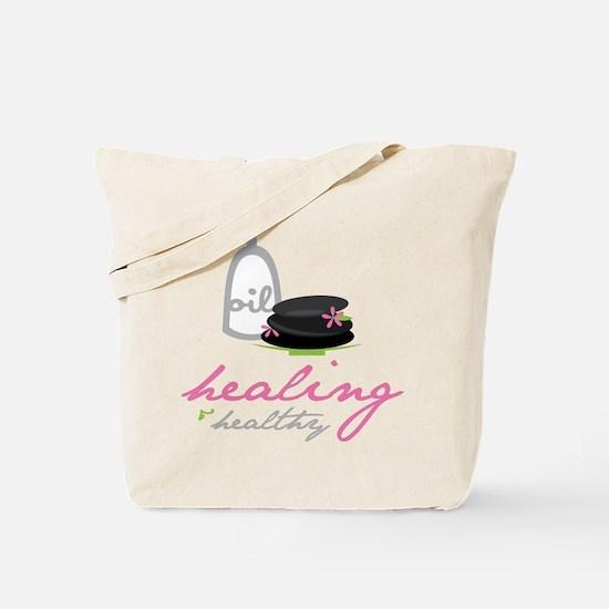 Healing & Healthy Tote Bag