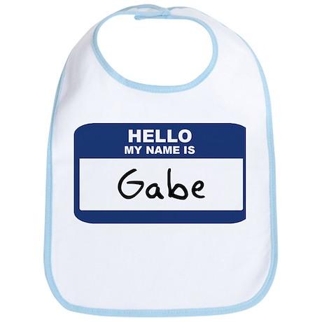 Hello: Gabe Bib