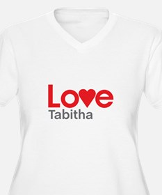 I Love Tabitha Plus Size T-Shirt
