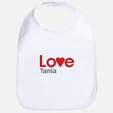 I Love Tania Bib