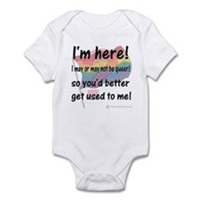 Here and Queer? Infant Bodysuit