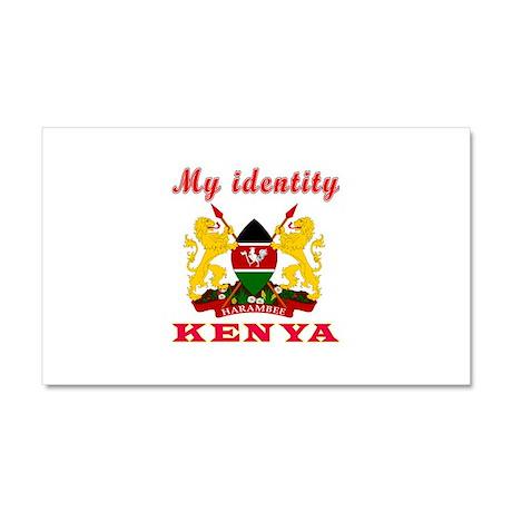 My Identity Kenya Car Magnet 20 x 12