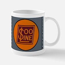 Vintage Train Engine Panel Coffee Mug
