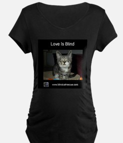 Pixie - Love is blind Maternity T-Shirt