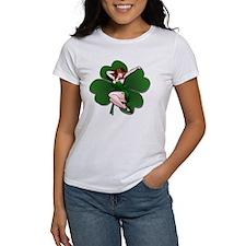St. Patrick's Pin-Up Girl Lucky Shirts T-Shirt