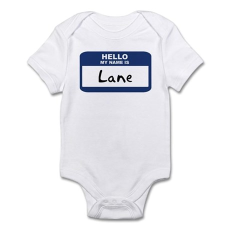 Hello: Lane Infant Bodysuit