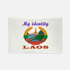 My Identity Laos Rectangle Magnet