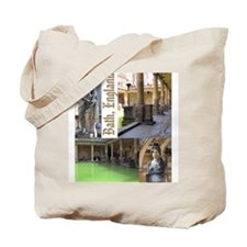 """Bath"" Tote Bag (Design on both sides)"