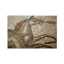 """Bath Mosaic"" Rectangle Magnet"