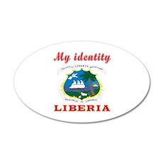 My Identity Liberia Wall Decal