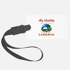 My Identity Liberia Luggage Tag