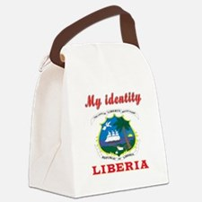 My Identity Liberia Canvas Lunch Bag