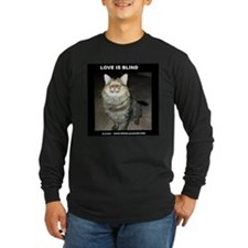 Snicker - Love Is Blind Long Sleeve T-Shirt