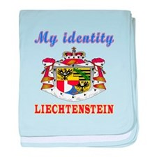 My Identity Liechtenstein baby blanket