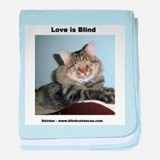 Snicker - Love is Blind baby blanket