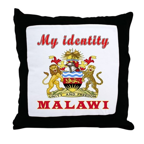 Malawi Elephant Throw Pillow : My Identity Malawi Throw Pillow by tshirts4valentine