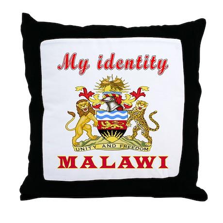 My Identity Malawi Throw Pillow by tshirts4valentine