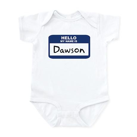 Hello: Dawson Infant Bodysuit