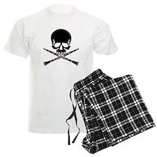 Skull with Clarinets Pajamas