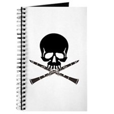 Skull with Clarinets Journal