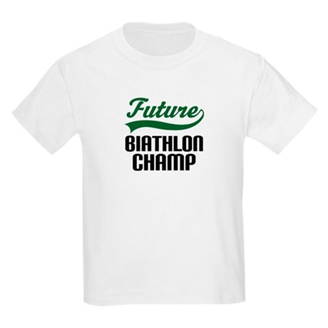 Future Biathlon Champ Kids Light T-Shirt
