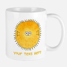 Pufferfish. Add Your Text. Mug